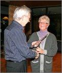 Verdienstnadel im Gold für Margrit Pilling - JHV 2011